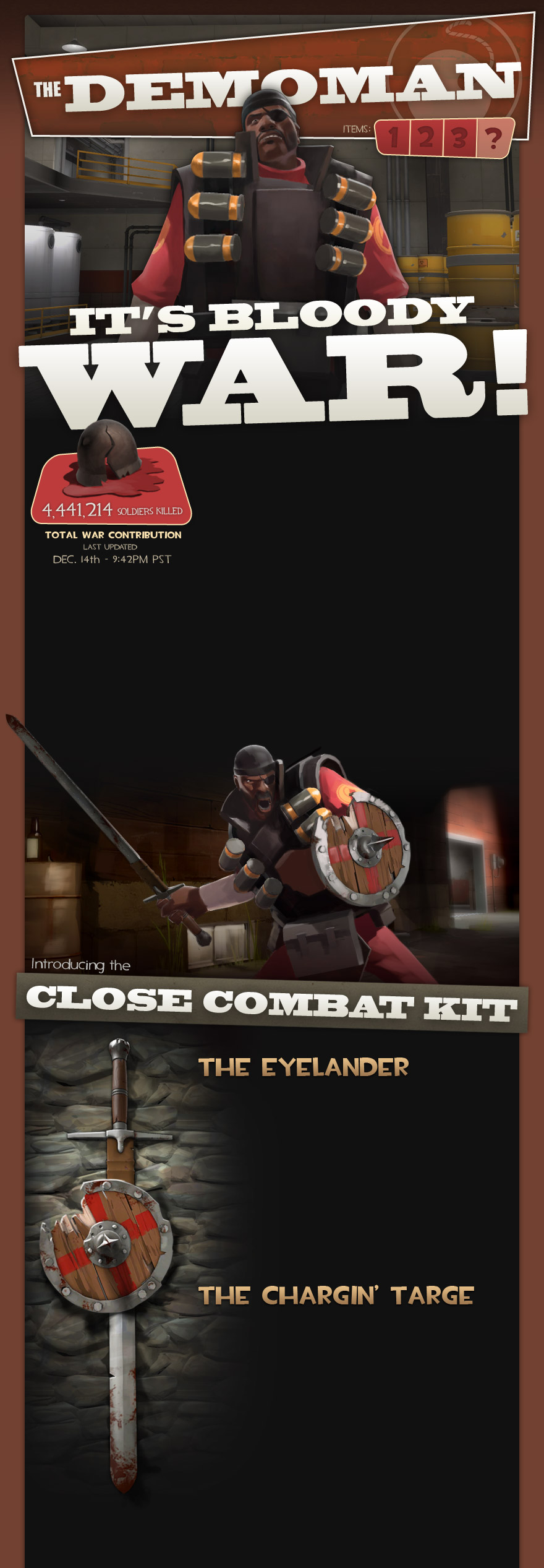 Demoman New Weapon For Tf2 Pcmaclinux Society Gamespot
