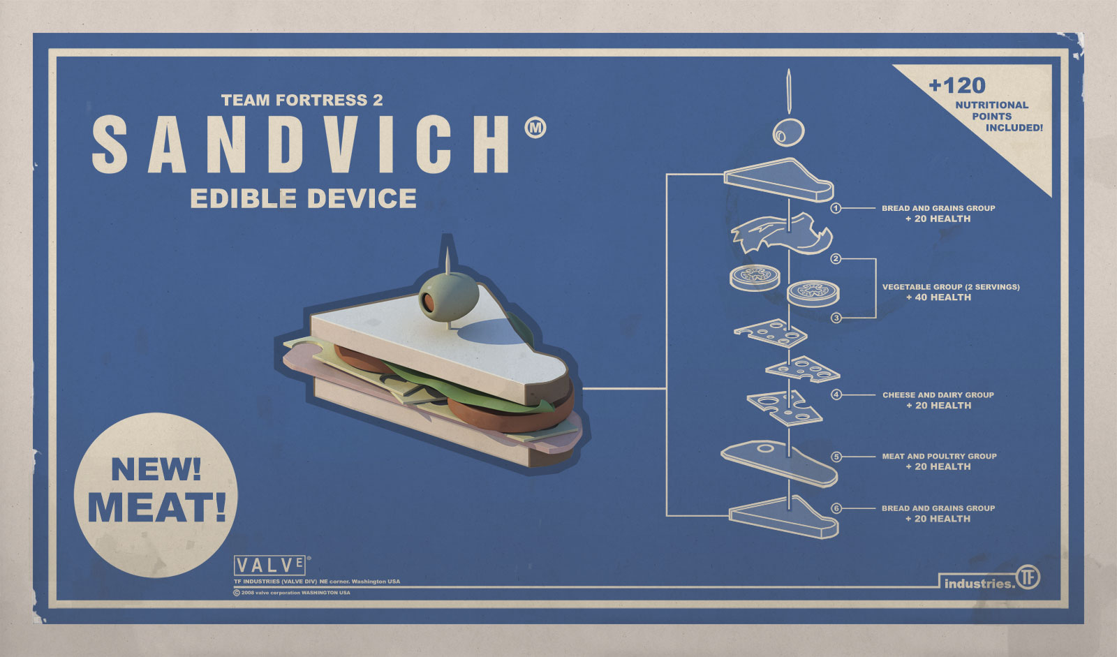 the sandvich is the heavy s first unlockable it tastes as good as it    Sandvich